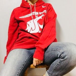 NIKE • Washington State Cougars Crimson Hoodie